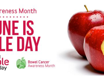 red apple day bowel cancer fundraiser