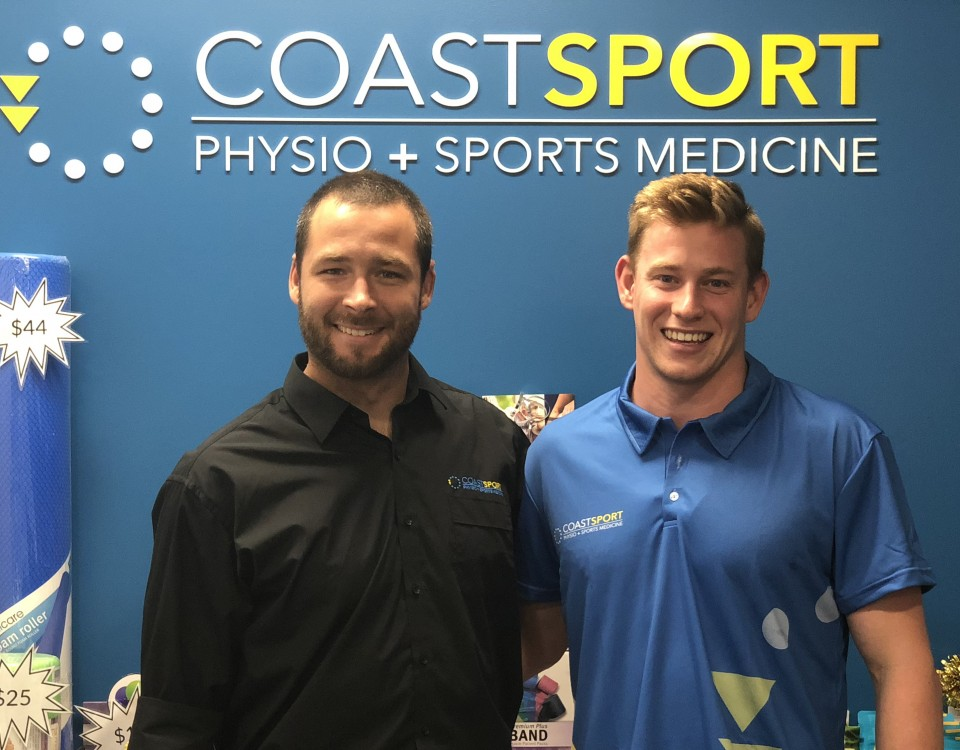 Bradley Woodward swimmer and coast sport ambassador